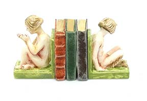 Art Deco Book Ends