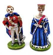 Victoria and Albert Figurines