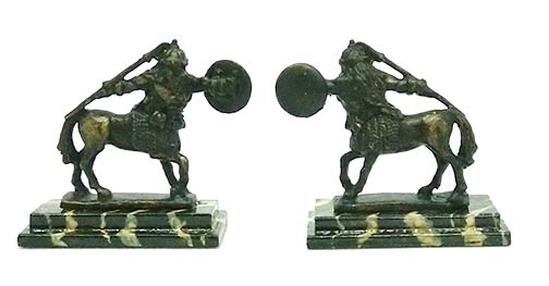 Bronze figurines