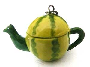 Art Deco Watermelon Tea Pot