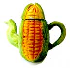 Art Deco Tea Pot Corn Cob
