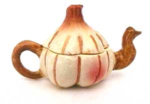 Art Deco Teapot Garlic