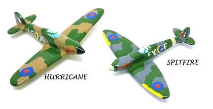 World War 2 Airplanes British